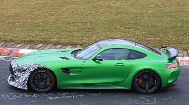 Mercedes-AMG GT R Clubsport green