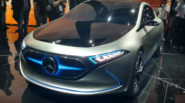 Mercedes EQA concept - Frankfurt front