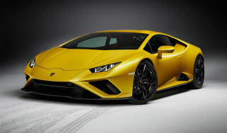 Lamborghini Huracan EVO RWD - front 3/4 static