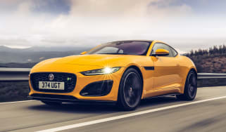 2020 Jaguar F-Type - front tracking