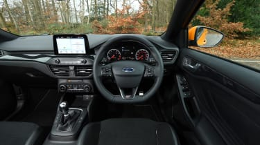 Ford Focus ST Estate: long-term test review - first report - interior