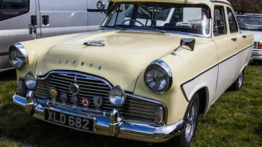 Ford Zephyr front