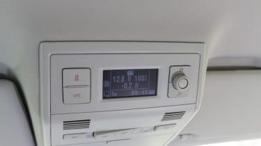 Volkswagen California T6 buttons