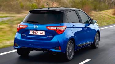 Toyota Yaris Hybrid Bi-Tone - rear
