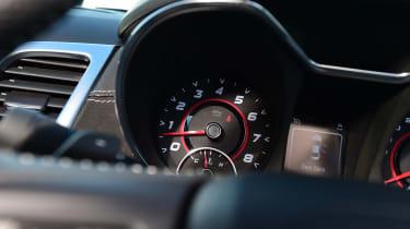 Vauxhall VXR8 GTS - dials