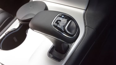 Jeep Grand Cherokee interior detail