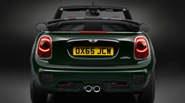 Mini John Cooper Works Convertible 2016 - rear end