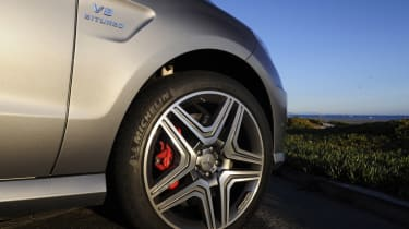 Mercedes ML63 AMG wheel