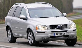 Volvo XC90 front cornering