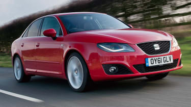 SEAT Exeo front tracking