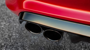 Jeep Grand Cherokee Trackhawk - exhaust