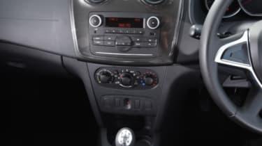 Dacia Sandero Stepway - console