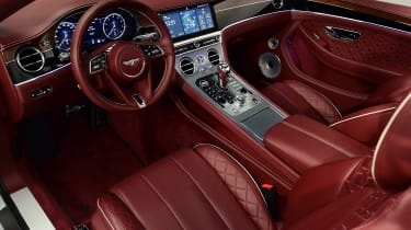 Bentley Continental GTC - studio dash