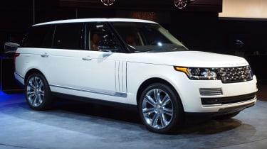 Range Rover LWB motor show
