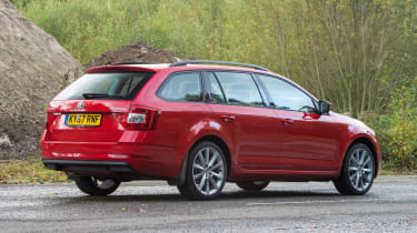 Skoda Octavia Estate 1.5 TSI - rear static