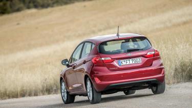 Ford Fiesta Titanium 2017 rear