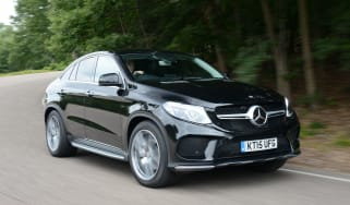 Mercedes GLE Coupe - front action