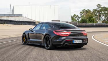 Porsche Taycan - rear static