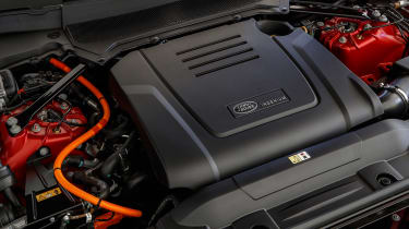 Range Rover Sport PHEV - engine