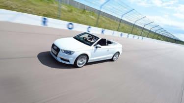Audi A3 Convertible above
