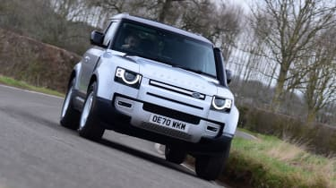 Land Rover Defender 90 D250 - front cornering
