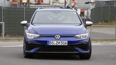Volkswagen Golf R estate spy - front
