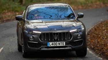 Maserati Levante GranLusso - front cornering