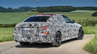 New BMW 3 Series pre-production review - rear