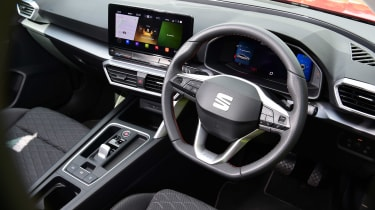 SEAT Leon e-Hybrid long termer - first report dash