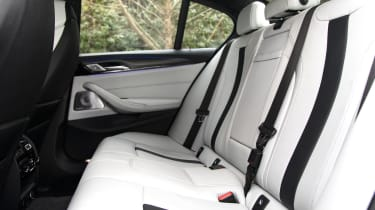 New BMW M5 - back seats