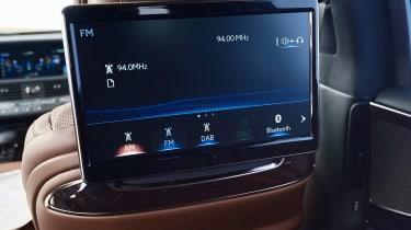Lexus LS 500h - rear screen