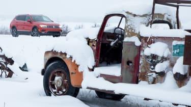 Volkswagen Tiguan snow