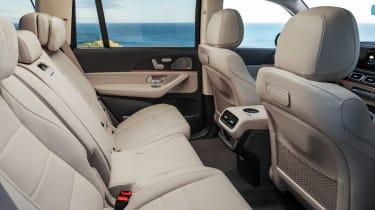 Mercedes GLS - green rear seats