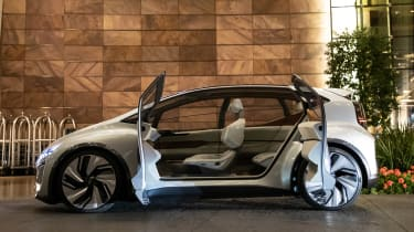 Audi AI:ME concept - doors open