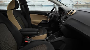 SEAT Ibiza 2015 facelift - front seats
