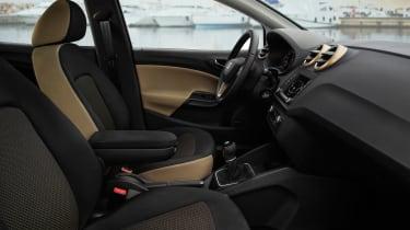 SEAT Ibiza 2015 facelift - front seats