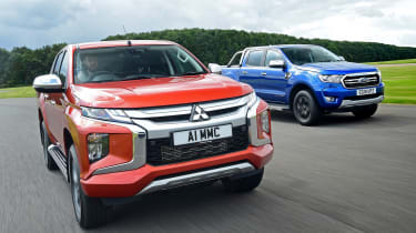 Mitsubishi L200 vs Ford Ranger - head-to-head