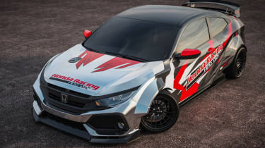 Honda Civic Si Drift Car - front