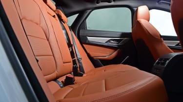 Jaguar XF facelift - rear seats