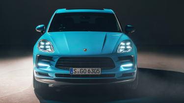 Porsche Macan - full front