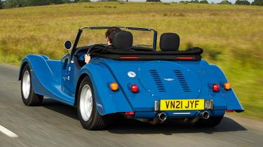 Morgan Plus Four - rear