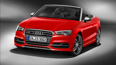 Audi S3 Cabriolet 2014 front static