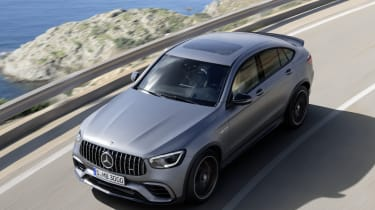 Mercedes-AMG GLC 63 S - front above