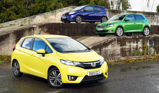 Honda Jazz vs Nissan Note vs Skoda Fabia