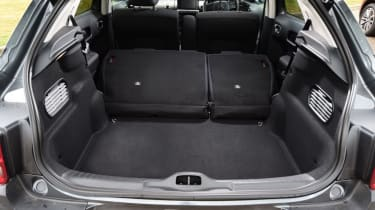 Citroen C4 Cactus - boot seats folded