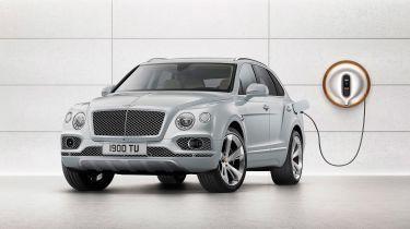 Bentley Bentayga PHEV - plugged-in