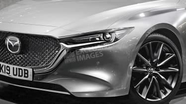 New Mazda 3 - front detail (watermarked)