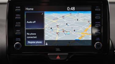 Toyota Yaris - navigation studio