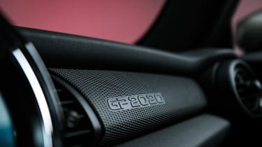 MINI John Cooper Works GP - dashboard