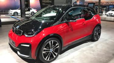 BMW i3s - Frankfurt front